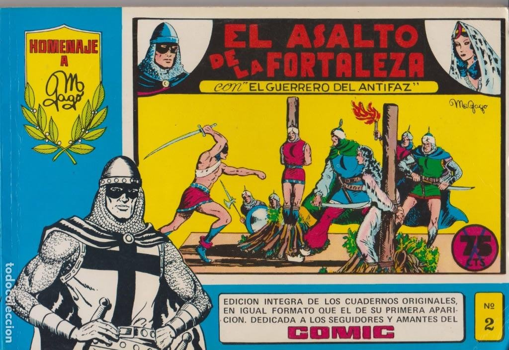 EL GUERRERO DEL ANTIFAZ -- Nº 2 INCLUYE LOS Nº 7 AL 10 (Tebeos y Comics - Valenciana - Guerrero del Antifaz)