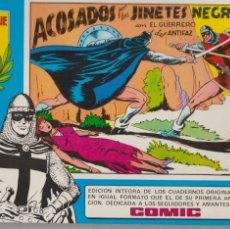 Tebeos: EL GUERRERO DEL ANTIFAZ -- Nº 8 INCLUYE LOS Nº 37 AL 40. Lote 194199491