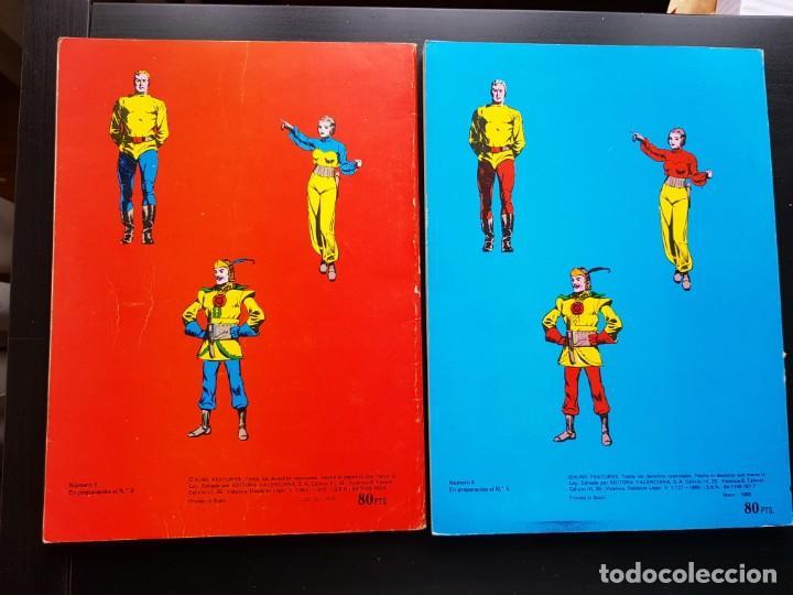 Tebeos: LOTE 2 TEBEOS / CÓMIC ÁLBUM FLASH GORDON 1-4 1980 ORIGINAL VALENCIANA - Foto 2 - 194225985