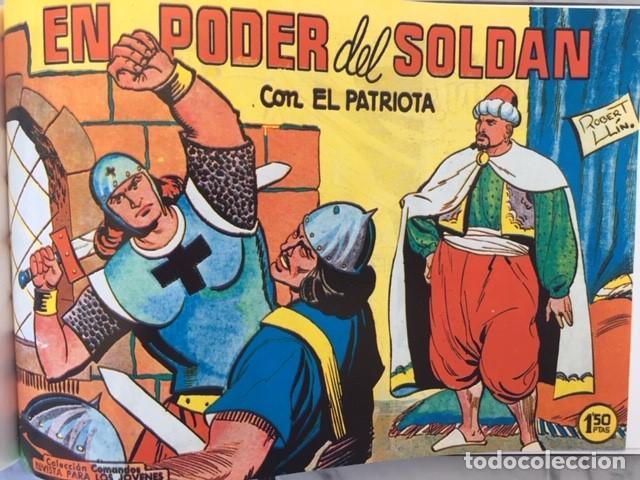 Tebeos: EL PATRIOTA - Fascimil, completa, encuadernada - Ed. Valenciana - Foto 4 - 194226276