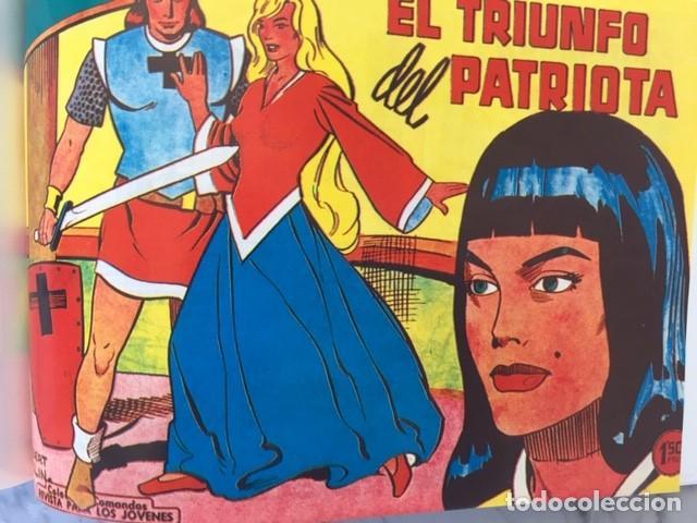 Tebeos: EL PATRIOTA - Fascimil, completa, encuadernada - Ed. Valenciana - Foto 7 - 194226276