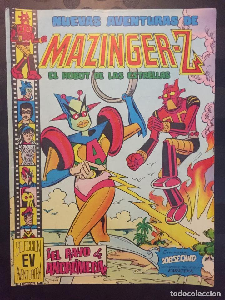 NUEVAS AVENTURAS DE MAZINGER Z EL ROBOT DE LAS ESTRELLAS N.12 . EL RAYO DE ANDROMEDA . 137 . 1979 . (Tebeos y Comics - Valenciana - Selección Aventurera)