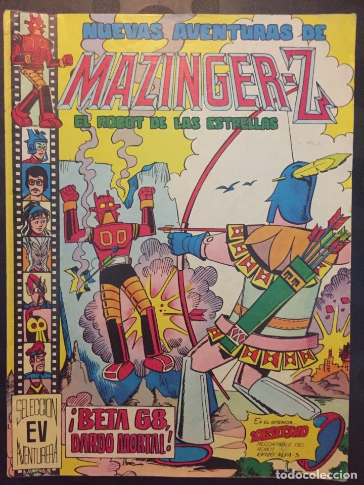 NUEVAS AVENTURAS DE MAZINGER Z EL ROBOT DE LAS ESTRELLAS N.11 . BETA 68 DARDO MORTAL . 136 . 1978 . (Tebeos y Comics - Valenciana - Selección Aventurera)