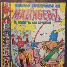 Tebeos: NUEVAS AVENTURAS DE MAZINGER Z EL ROBOT DE LAS ESTRELLAS N.11 . BETA 68 DARDO MORTAL . 136 . 1978 .. Lote 194230190