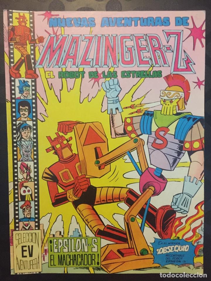 NUEVAS AVENTURAS DE MAZINGER Z EL ROBOT DE LAS ESTRELLAS N.13 . EPSILON-S EL MACHACADOR.N.139.1979. (Tebeos y Comics - Valenciana - Selección Aventurera)