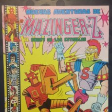Tebeos: NUEVAS AVENTURAS DE MAZINGER Z EL ROBOT DE LAS ESTRELLAS N.13 . EPSILON-S EL MACHACADOR.N.139.1979.. Lote 194231085