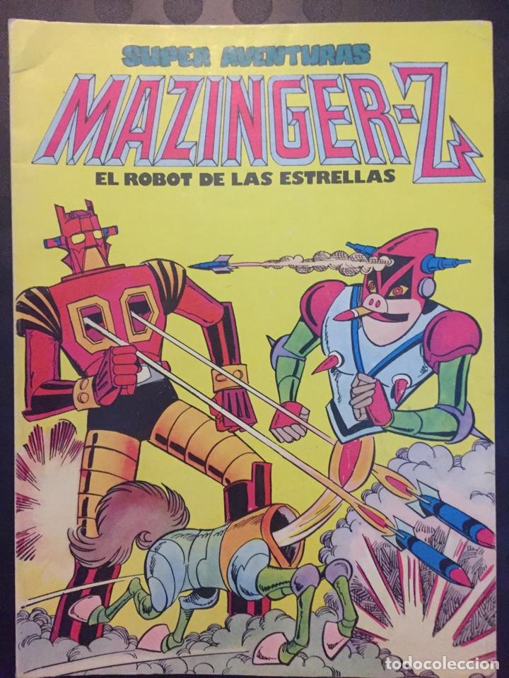 SUPER AVENTURAS MAZINGER Z : EL ROBOT DE LAS ESTRELLAS . TOMO 3 . 1978 . (Tebeos y Comics - Valenciana - Selección Aventurera)