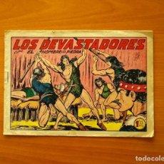 Tebeos: EL HOMBRE DE PIEDRA - Nº 198, LOS DEVASTADORES - EDITORIAL VALENCIANA 1950. Lote 194285865