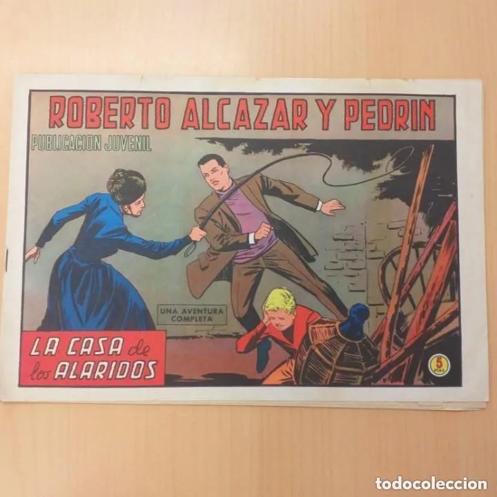 ROBERTO ALCAZAR Y PEDRIN - LA CASA DE LOS ALARIDOS. VALENCIANA. NUM 1148 (Tebeos y Comics - Valenciana - Roberto Alcázar y Pedrín)