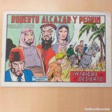 Tebeos: ROBERTO ALCAZAR Y PEDRIN - INTRIGAS EN EL DESIERTO. VALENCIANA. NUM 1122. Lote 194302227