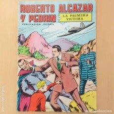 Tebeos: ROBERTO ALCAZAR Y PEDRIN - LA PRIMERA VICTIMA. VALENCIANA. NUM 4.. Lote 194302497