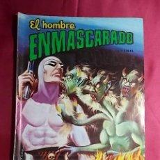 Tebeos: EL HOMBRE ENMASCARADO. Nº 19. COLOSOS DEL COMIC. EDITORIAL VALENCIANA.. Lote 194353405