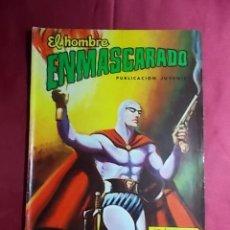 Tebeos: EL HOMBRE ENMASCARADO. Nº 21. COLOSOS DEL COMIC. EDITORIAL VALENCIANA.. Lote 194354218