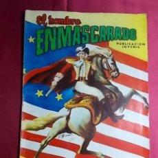 Tebeos: EL HOMBRE ENMASCARADO. Nº 33. COLOSOS DEL COMIC. EDITORIAL VALENCIANA.. Lote 194355393