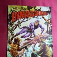 Tebeos: EL HOMBRE ENMASCARADO. Nº 43. COLOSOS DEL COMIC. EDITORIAL VALENCIANA.. Lote 194537961