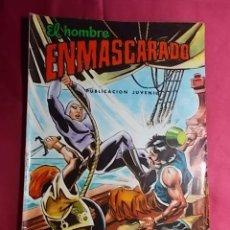 Tebeos: EL HOMBRE ENMASCARADO. Nº 48. COLOSOS DEL COMIC. EDITORIAL VALENCIANA.. Lote 194538782