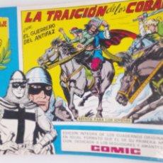 Tebeos: COMIC DEL GUERRERO DEL ANTIFAZ AÑO 1982 N45. Lote 218629437