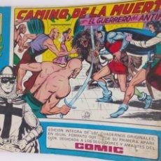 Tebeos: COMIC DEL GUERRERO DEL ANTIFAZ AÑO 1982 N34. Lote 218629403