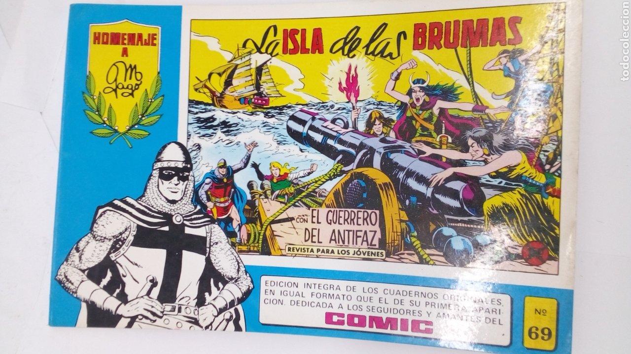 COMIC DEL GUERRERO DEL ANTIFAZ AÑO 1982 E69 (Tebeos y Comics - Valenciana - Guerrero del Antifaz)