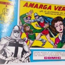 Tebeos: COMIC DEL GUERRERO DEL ANTIFAZ AÑO 1982 AMARGA VERDAD. Lote 194606317