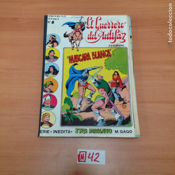 EL GUERRERO DEL ANTIFAZ. SERIE INEDITA (Tebeos y Comics - Valenciana - Guerrero del Antifaz)