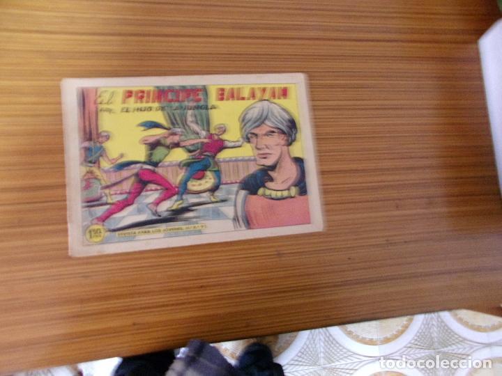 EL HIJO DE LA JUNGLA Nº 44 EDITA VALENCIANA (Tebeos y Comics - Valenciana - Hijo de la Jungla)