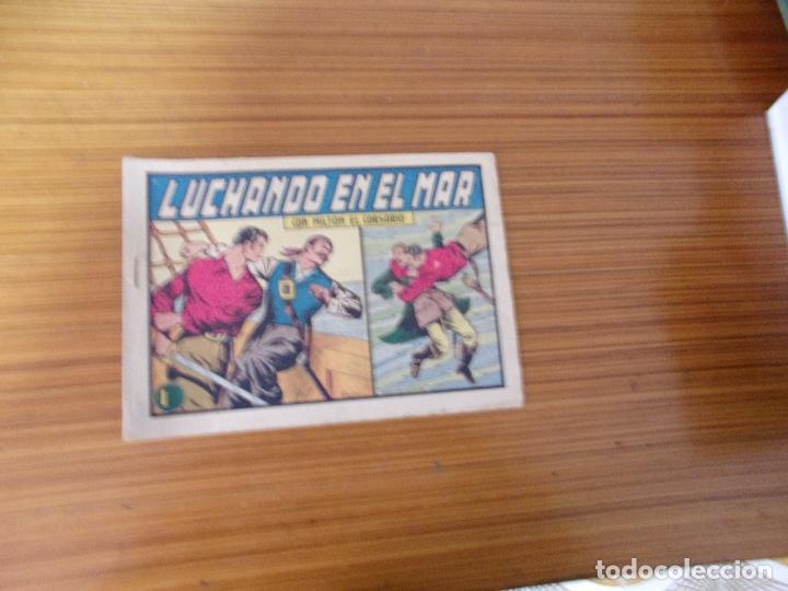 MILTON EL CORSARIO Nº 25 EDITA VALENCIANA (Tebeos y Comics - Valenciana - Otros)