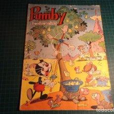 Tebeos: PUMBY. Nº 465. VALENCIANA. (M-3). Lote 194712926