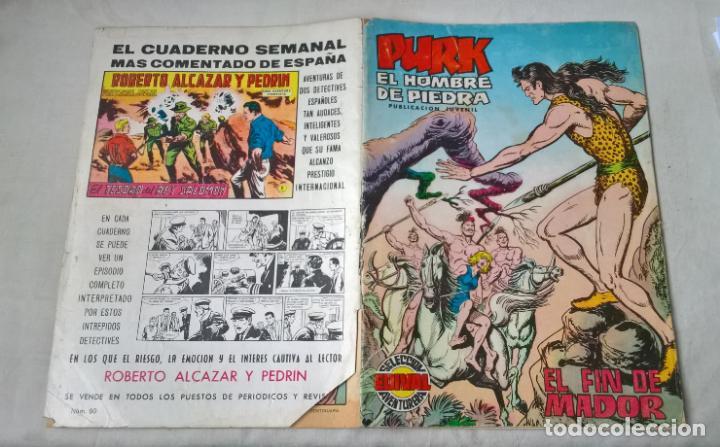 COMIC: PURK EL HOMBRE DE PIEDRA N.º 90. EL FIN DE MADOR (Tebeos y Comics - Valenciana - Purk, el Hombre de Piedra)