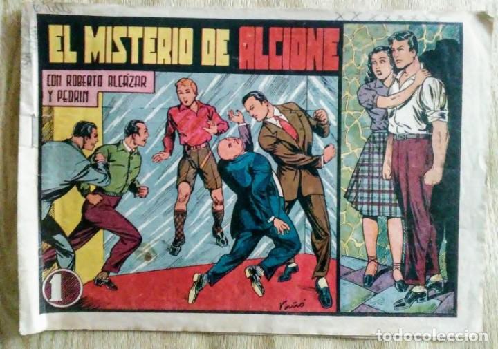 EL MISTERIO DE ALCIONE 160 ROBERTO ALCAZAR Y PEDRIN ORIGINAL PRIMERA EDICION ED.VALENCIANA (Tebeos y Comics - Valenciana - Roberto Alcázar y Pedrín)