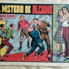Tebeos: EL MISTERIO DE ALCIONE 160 ROBERTO ALCAZAR Y PEDRIN ORIGINAL PRIMERA EDICION ED.VALENCIANA. Lote 194516692