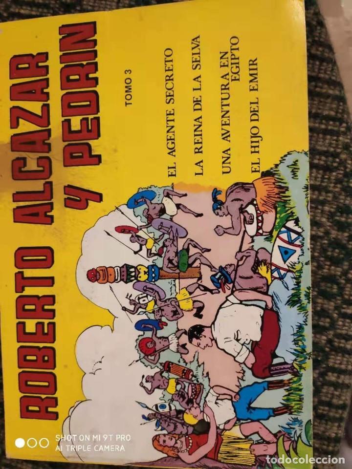 ROBERTO ALCAZAR Y PEDRIN TOMO 3 (Tebeos y Comics - Valenciana - Roberto Alcázar y Pedrín)