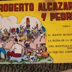 Tebeos: ROBERTO ALCAZAR Y PEDRIN TOMO 3. Lote 232729295