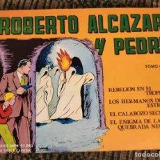 Tebeos: ROBERTO ALCAZAR Y PEDRIN TOMO 4. Lote 194902660