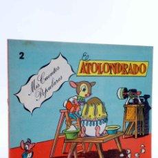 Tebeos: MIS CUENTOS POPULARES 2. EL ATOLONDRADO (JESÚS LICERAS) VALENCIANA, 1983. OFRT. Lote 194912122