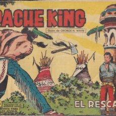 Tebeos: APACHE KING Nº 8 ORIGINAL. HAZAÑAS DE LA JUVENTUD AUDAZ. Lote 194993888