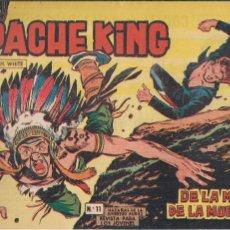 Tebeos: APACHE KING Nº 11 ORIGINAL. HAZAÑAS DE LA JUVENTUD AUDAZ. Lote 194994811