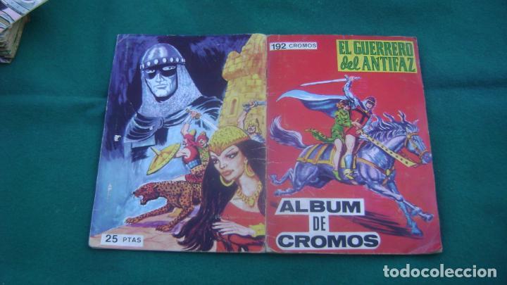 ALBUM DE CROMOS COMPLETO EL GUERRERO DEL ANTIFAZ VER FOTOS ESTINTITN (Tebeos y Comics - Valenciana - Guerrero del Antifaz)