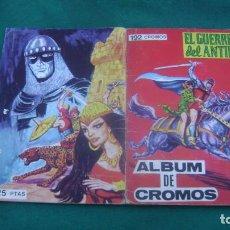 Tebeos: ALBUM DE CROMOS COMPLETO EL GUERRERO DEL ANTIFAZ VER FOTOS ESTINTITN. Lote 195025073