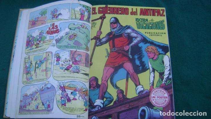 Tebeos: LOTE DE EXTRAS EL GUERRERO DEL ANTIFAZ VER FOTOS ESTINTITN - Foto 2 - 195025490