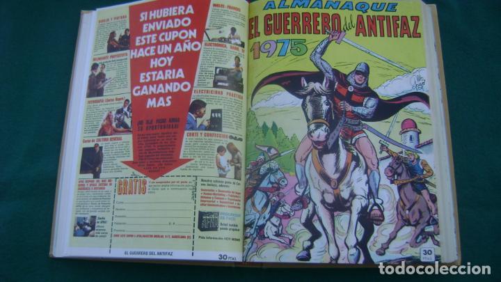 Tebeos: LOTE DE EXTRAS EL GUERRERO DEL ANTIFAZ VER FOTOS ESTINTITN - Foto 4 - 195025490