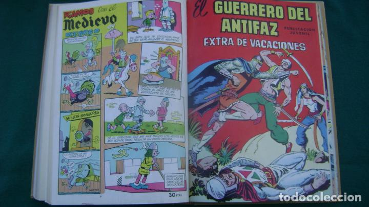 Tebeos: LOTE DE EXTRAS EL GUERRERO DEL ANTIFAZ VER FOTOS ESTINTITN - Foto 9 - 195025490