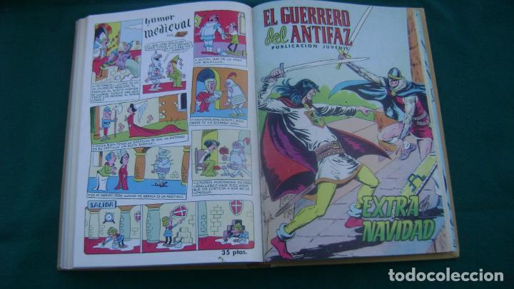 Tebeos: LOTE DE EXTRAS EL GUERRERO DEL ANTIFAZ VER FOTOS ESTINTITN - Foto 10 - 195025490