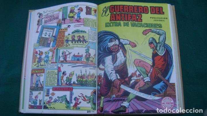 Tebeos: LOTE DE EXTRAS EL GUERRERO DEL ANTIFAZ VER FOTOS ESTINTITN - Foto 15 - 195025490