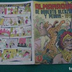 Tebeos: ROBERTO ALCAZAR Y PEDRIN ALMANAQUE 1954 ORIGINAL ESTINTIN. Lote 195026115