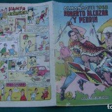 Tebeos: ROBERTO ALCAZAR Y PEDRIN ALMANAQUE 1963 ORIGINAL ESTINTIN. Lote 195026792