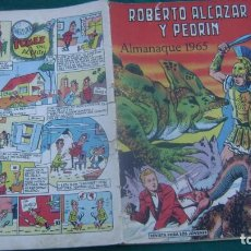 Tebeos: ROBERTO ALCAZAR Y PEDRIN ALMANAQUE 1965 ORIGINAL ESTINTIN. Lote 195026893