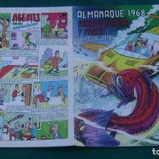 Tebeos: ROBERTO ALCAZAR Y PEDRIN ALMANAQUE 1968 ORIGINAL ESTINTIN. Lote 195027032