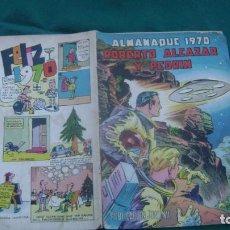 Tebeos: ROBERTO ALCAZAR Y PEDRIN ALMANAQUE 1970 ORIGINAL ESTINTIN. Lote 195027081