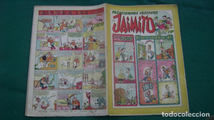 JAIMITO VALENCIANA ORIGINAL 96 CJ 10 (Tebeos y Comics - Valenciana - Jaimito)